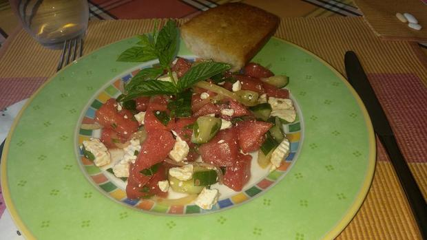 Melonen Salat - Rezept - Bild Nr. 5929
