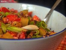 Lauwarmer Bratkartoffel-Tomaten-Salat - Rezept - Bild Nr. 5943