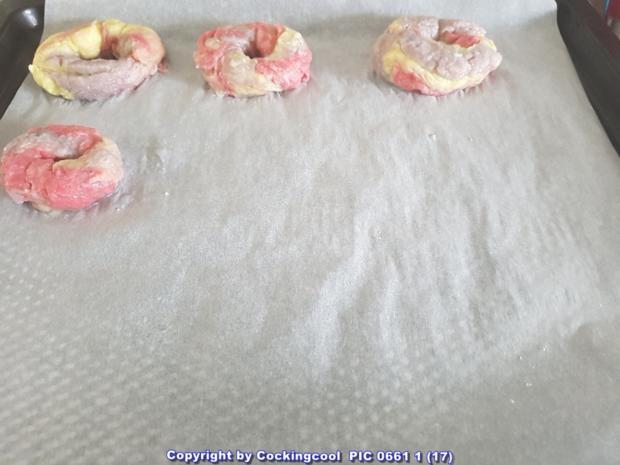 """VEGANE """"Rainbow Bagel`s und das OMNI """"Bagel`s Grundrezept"""" - Rezept - Bild Nr. 5956"""