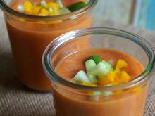 Wassermelonen-Tomaten-Gazpacho - Rezept - Bild Nr. 2