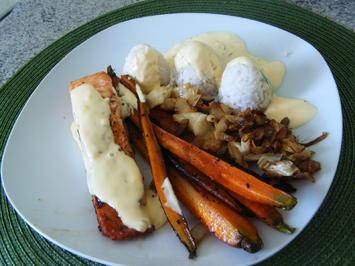 Lachs-Gemüse-Pfanne - Rezept - Bild Nr. 5957