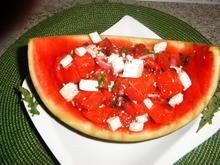 Melonensalat - Rezept - Bild Nr. 5957