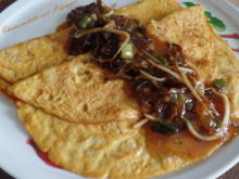 Chinaomelette mit Pilzsauce - Rezept - Bild Nr. 5957