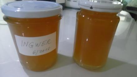 """Ingwer-Marmelade """"Ginger Jam"""" - Rezept - Bild Nr. 5957"""