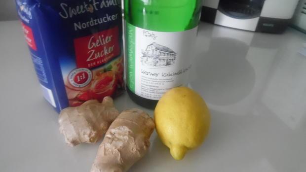 """Ingwer-Marmelade """"Ginger Jam"""" - Rezept - Bild Nr. 5963"""