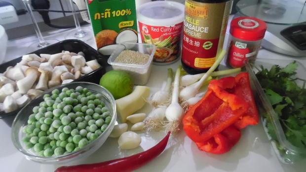 Fisch-Kokos-Curry (scharf) mit Jasminreis und Chapati - Rezept - Bild Nr. 5978