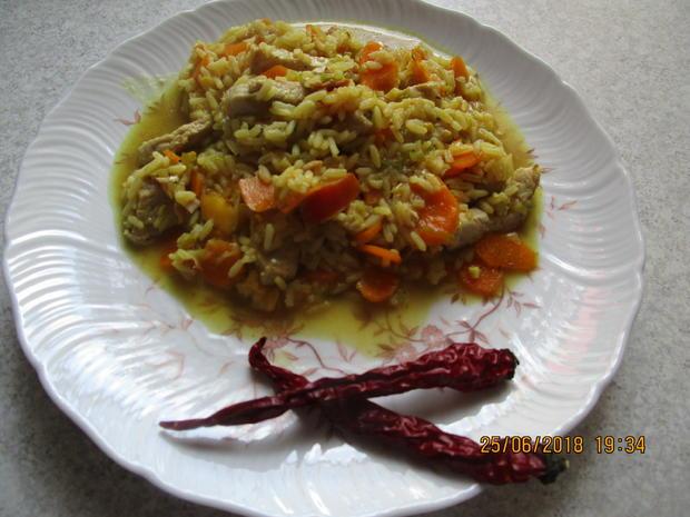 Gemüse-Curry mit Nektarinen und Schweinelachs - Rezept - Bild Nr. 5959