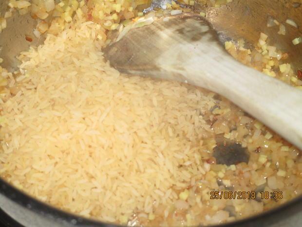 Gemüse-Curry mit Nektarinen und Schweinelachs - Rezept - Bild Nr. 5970