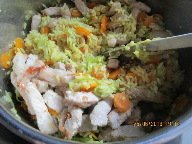 Gemüse-Curry mit Nektarinen und Schweinelachs - Rezept - Bild Nr. 5974
