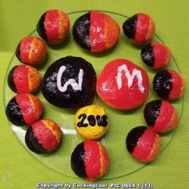 Oma Löffel`s Kid`sFood Kleingebäck = Muffins sind die neuen Fussi`s zur WM 2018 - Rezept - Bild Nr. 5973