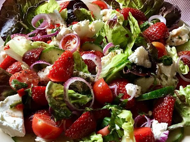 Gemischter Erdbeer-Salat - Rezept - Bild Nr. 5985