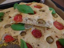Tomaten-Oliven-Focaccia - Rezept - Bild Nr. 5973