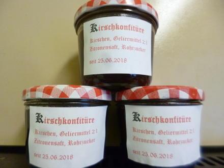 Kirschkonfitüre aus Süßkirschen - Rezept - Bild Nr. 5985