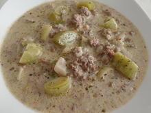 Hack-Käse-Lauch-Suppe - Rezept - Bild Nr. 6037