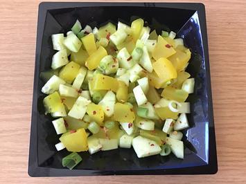 Rezept: erfrischender Gurkensalat
