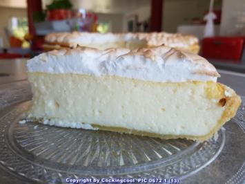 Oma Löffels Kuchen = Käsekuchen mit Baiserhaube à la Biggi - Rezept - Bild Nr. 6041