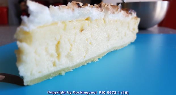 Oma Loffels Kuchen Kasekuchen Mit Baiserhaube A La Biggi Rezept