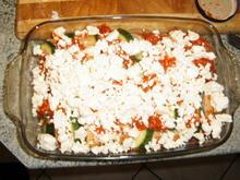 Zucchini-Baguette -Auflauf mit Tomatensoße - Rezept - Bild Nr. 6051