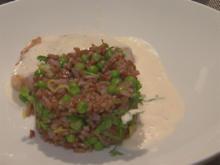 Lachs auf rotem Reis mit Kerbel und Zitronendressing - Rezept - Bild Nr. 2