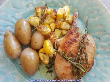 Fleisch / Schwein = Iberico Rücken am Knochen à la Biggi - Rezept - Bild Nr. 6064