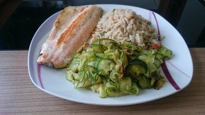 Rezept: Einfaches Zucchini-Gemüse