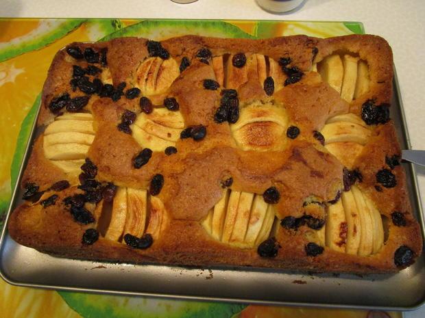 Versunkener Apfelkuchen - Rezept - Bild Nr. 6061