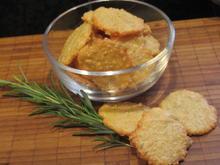 Pikantes Backen: Parmesanplätzchen - Rezept - Bild Nr. 6060