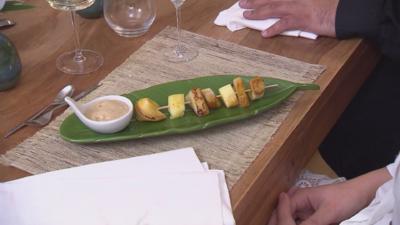 Fruchtspieße mit Gewürzhonig und selbstgemachtem Kokosnusseis - Rezept - Bild Nr. 6061