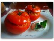 Gebackene Tomaten gefüllt mit Bulgursalat und Minzjoghurt - Rezept - Bild Nr. 6074