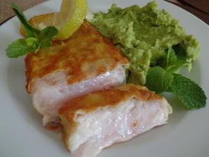Backfisch mit Erbsenpüree - Rezept - Bild Nr. 6074