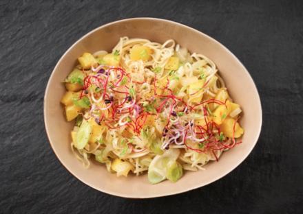 Mr Mis Nudel Bowl - Jubiläumsrezept der Campus Cooking Tour - Rezept - Bild Nr. 6074
