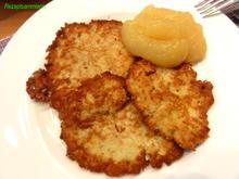 Kartoffel:   REIBEPFANNKUCHEN (Kartoffelpuffer) - Rezept - Bild Nr. 6077