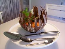 Melonefiguren in schokoladiger Schale - Rezept - Bild Nr. 6084