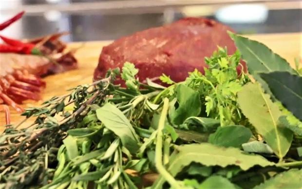 Grill-Marinade für Rindfleisch mit Apfel und Kräutern der Provence - Rezept - Bild Nr. 6083