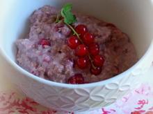 Frühstück: Kokos-Johannisbeer-Porridge - Rezept - Bild Nr. 2