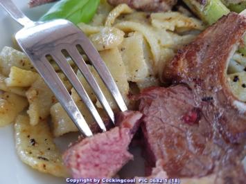 Fleisch / Lamm = Lammkarreè (Lammkotelett) - Rezept - Bild Nr. 6082