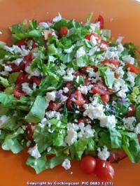 Bauernsalat einfach und schnell angerichtet - Rezept - Bild Nr. 6093