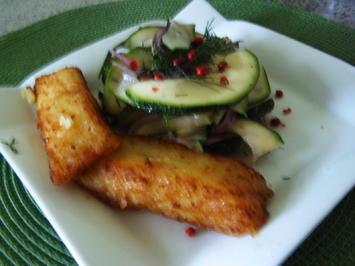 Zucchini-Zwiebel-Salat - Rezept - Bild Nr. 6096
