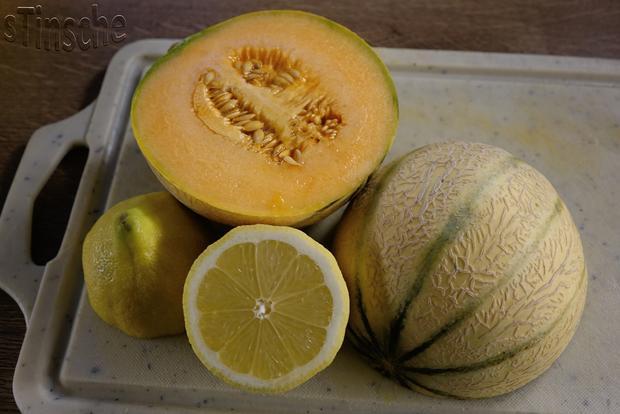 Marinierte Melone an Joghurt-Sahne-Eis - HERRLICH- - Rezept - Bild Nr. 6106