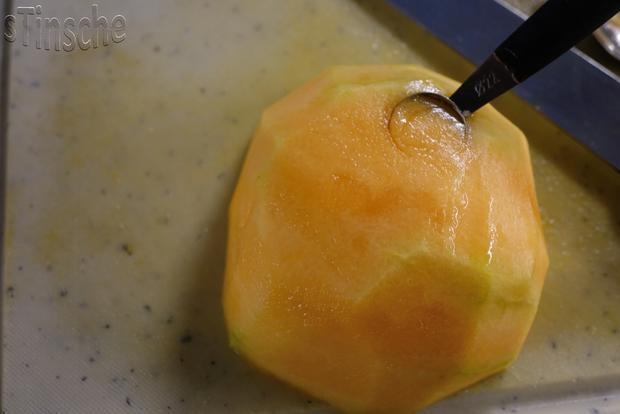 Marinierte Melone an Joghurt-Sahne-Eis - HERRLICH- - Rezept - Bild Nr. 6108