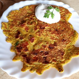 indisch: Punjabi Style Omelette - Rezept - Bild Nr. 6111