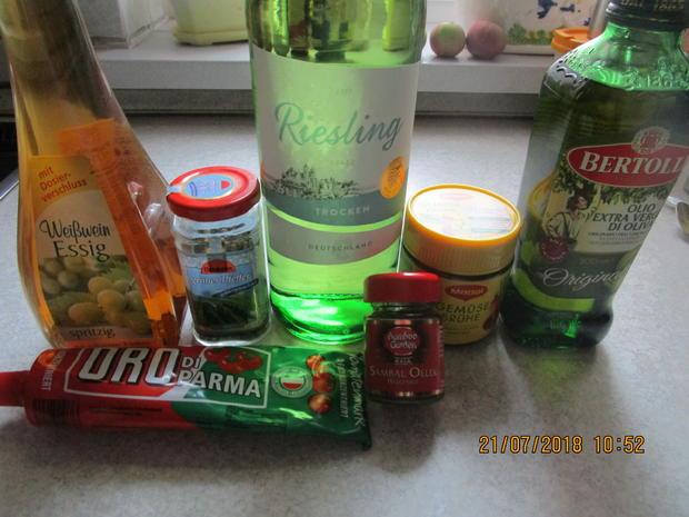 Eingemachtes: Relish aus Zwiebeln und roter Paprika - Rezept - Bild Nr. 6097