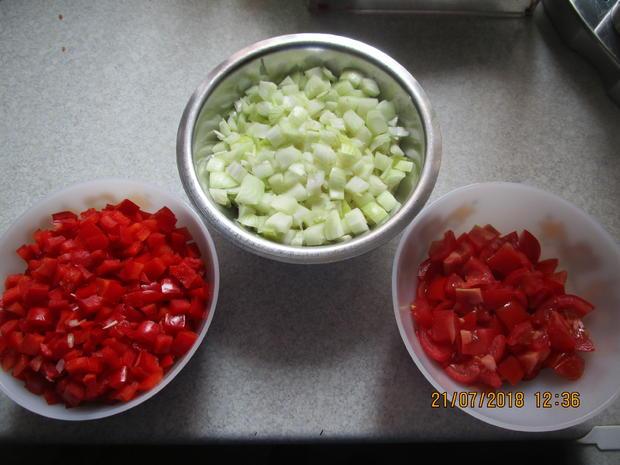 Eingemachtes: Relish aus Zwiebeln und roter Paprika - Rezept - Bild Nr. 6101