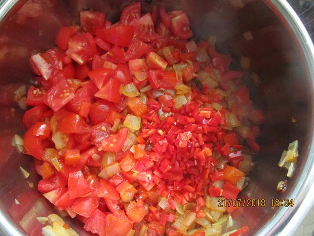 Eingemachtes: Relish aus Zwiebeln und roter Paprika - Rezept - Bild Nr. 6104
