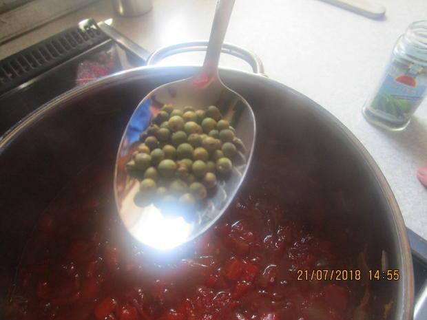 Eingemachtes: Relish aus Zwiebeln und roter Paprika - Rezept - Bild Nr. 6111
