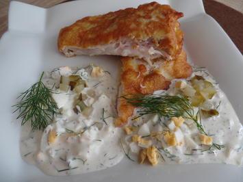 Backfisch mit würziger Remoulade - Rezept - Bild Nr. 6104