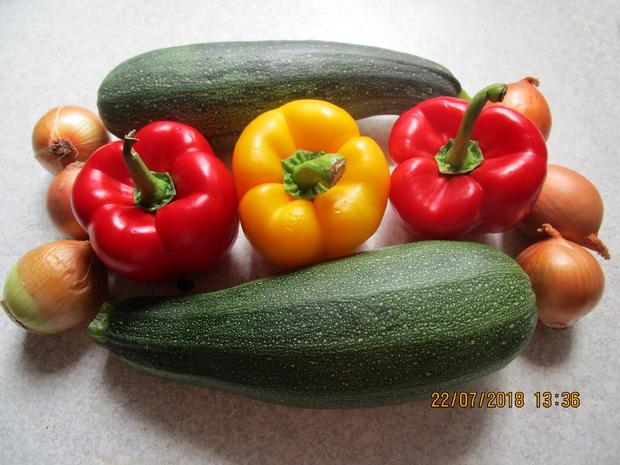 Eingemachtes: süß-sauer eingelegte Zucchini - Rezept - Bild Nr. 6111