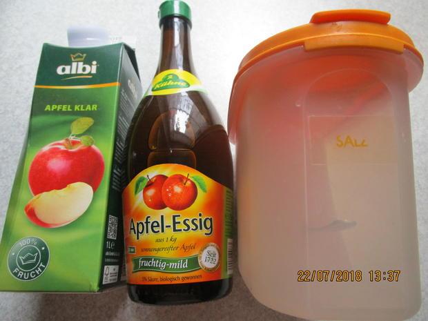 Eingemachtes: süß-sauer eingelegte Zucchini - Rezept - Bild Nr. 6112