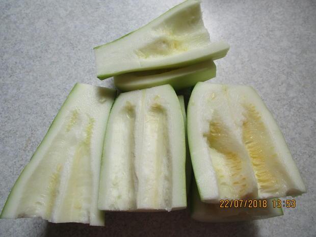 Eingemachtes: süß-sauer eingelegte Zucchini - Rezept - Bild Nr. 6114