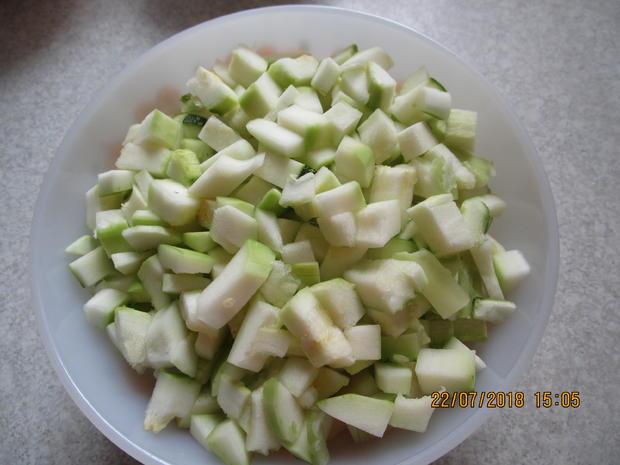 Eingemachtes: süß-sauer eingelegte Zucchini - Rezept - Bild Nr. 6115